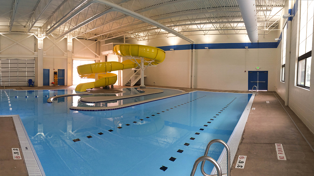 Orem fitness center remodel pool sirq construction for Lehi city swimming pool lehi ut
